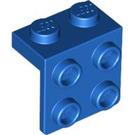 LEGO Blue Bracket 1 x 2 - 2 x 2 (21712 / 44728 / 92411)