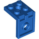 LEGO Blue Bracket 2 x 2 - 2 x 2 Up (3956)