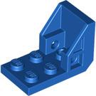 LEGO Blue Bracket 2 x 3 - 2 x 2 (4598)