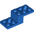 LEGO Blue Bracket 2 x 5 x 1 1/3 with Holes (11215)
