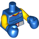 LEGO Blue Brawny Boxer Torso (97149)