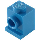 LEGO Blue Brick 1 x 1 with Headlight and Slot (4070)
