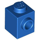 LEGO Blue Brick 1 x 1 with Stud on One Side (87087)