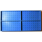 LEGO Brick 10 x 20 without Bottom Tubes, with '+' Cross Support