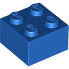 LEGO Blue Brick 2 x 2 (3003)