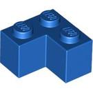 LEGO Blue Brick 2 x 2 Corner (2357)