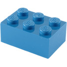 LEGO Blue Brick 2 x 3 (3002)