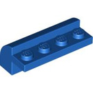 LEGO Blue Brick 2 x 4 x 1.33 with Curved Top (6081)