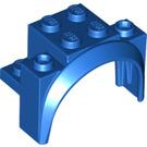 LEGO Blue Brick with Tall Wheel Arch 2 x 4 x 2 1/3 (18974)
