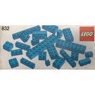LEGO Blue Bricks Parts Pack Set 832
