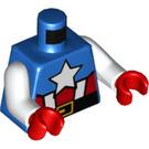 LEGO Blue Captain America Torso (76382)