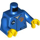 LEGO Blue Crewmember Minifig Torso (76382)