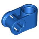 LEGO Blue Cross Block 90° 1 x 2 (Axle/Pin) (6536 / 40146)