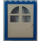 LEGO Blue Door 2 x 6 x 6 Frame Freestyle Assembly