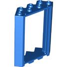 LEGO Blue Door Frame 4 x 4 x 6 Corner (28327)