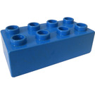 LEGO Blue Duplo Brick 2 x 4 (3011)