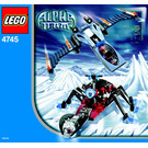 LEGO Blue Eagle vs. Snow Crawler Set 4745 Instructions