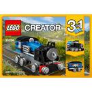 LEGO Blue Express  Set 31054 Instructions