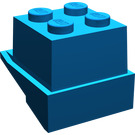 LEGO Blue Fabuland Roof Chimney