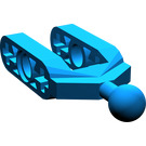 LEGO Blue Half Beam Fork with Ball Joint
