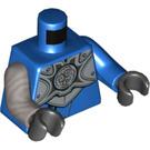 LEGO Blue Hero Jay Minifig Torso (76382)