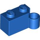 LEGO Blue Hinge Brick 1 x 4 Base (3831)