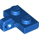 LEGO Blue Hinge Plate 1 x 2 Locking with Vertical Stub with Bottom Groove (44567)
