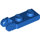 LEGO Blue Hinge Plate 1 x 2 with Locking Fingers with Groove (44302)