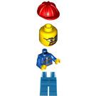 LEGO Blue Jacket City Minifigure