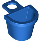 LEGO Blue Minifig Container D-Basket (4523)