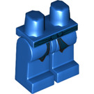 LEGO Blue Minifigure Hips and Legs with Decoration (93741)