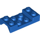 LEGO Blue Mudguard 2 x 4 with Arch Studded with Hole (60212)