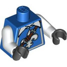 LEGO Blue Musketeer Torso (88585)