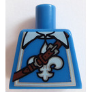 LEGO Bleu Musketeer Torso without Arms