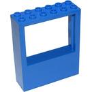 LEGO Blue Panel 2 x 6 x 6 with Window Hole (6236)