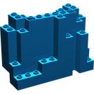 LEGO Blue Panel 4 x 10 x 6 Rock Rectangular (6082)