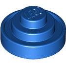 LEGO Blue Plate 1.5 x 1.5 x 0.667 Round (91049)