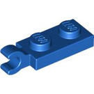 LEGO Blue Plate 1 x 2 with Horizontal Clip on End (42923 / 63868)