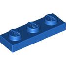 LEGO Blue Plate 1 x 3 (3623)