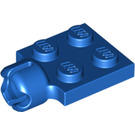 LEGO Blue Plate 2 x 2 with Towball Socket With 4 Slots (3730)