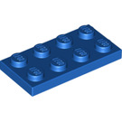 LEGO Blue Plate 2 x 4 (3020)