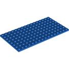 LEGO Blue Plate 8 x 16 (92438)