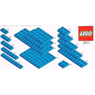 LEGO Blue Plates Parts Pack Set 822-1