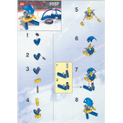LEGO Blue Player and Goal Set 3557 Instructions
