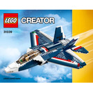 LEGO Blue Power Jet Set 31039 Instructions
