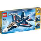 LEGO Blue Power Jet Set 31039 Packaging