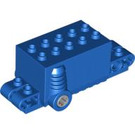 LEGO Blue Pull Back 4 x 8 x 2.33 Vertical 1 (47715 / 49197)