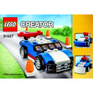LEGO Blue Racer Set 31027 Instructions