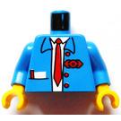 LEGO Railway Employee 6 Torso (973)