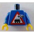 LEGO Railway Employee 7 Torso (973)